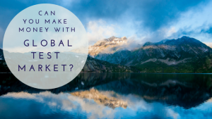 Can You Make Money With Global Test Market?