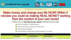 WHAT IS AUTOMATED INCOME ABOUT - A RAENA LYNN SCAM