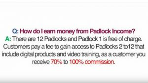 COMMISSION-WHAT IS PADLOCK INCOME- A PADLOCK INCOME REVIEW