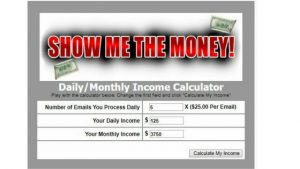 UNBELIEVABLE CLAIM-MY RESIDUAL PROFIT REVIEW. WHAT IS MY RESIDUAL PROFIT ABOUT, A SCAM