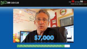 TESTIMONIAL-500 CASH CLUB REVIEW. IS 500 CASH CLUB A SCAM