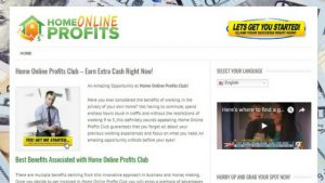 WHAT IS HOME ONLINE PROFITS CLUB ABOUT? A 2018 REVIEW HERE!