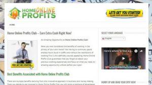 Home Online Profits Club