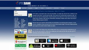 CAN PTC BANK VIEW AND CLICK ADS MAKE YOU MONEY?