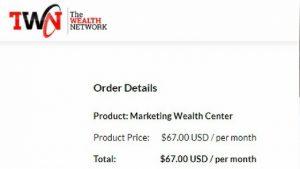 Marketing Wealth Center Price