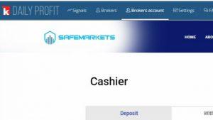 SafeMarkets- The Broker