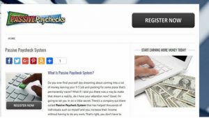 Passive Paychecks Review. What is this System About a Scam?