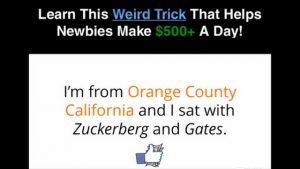 Angela Crisper Sat with Gates and Zuckerberg on a Meeting?