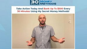 Fake Testimonial #2 30 Minute Money Methods