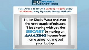 What is 30 Minute Money Methods, a $500 in 30 Minutes Scam?
