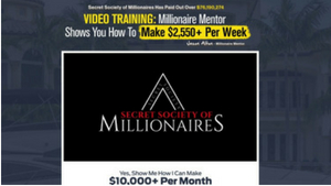 Secret Society of Millionaires Review. What is it, a Scam?