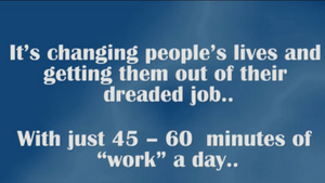 60 Minutes of Work a Day?