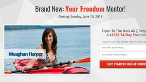 Is Your Freedom Mentor A Meaghan Harper Scam?